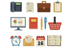 13款创意商务图标矢量素材