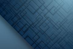 蓝色时尚方形纹背景矢量素材