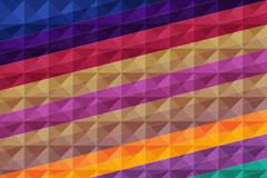 彩色斜纹背景设计矢量素材