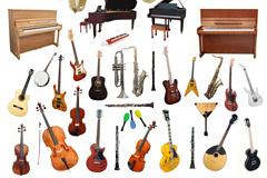 35种乐器高清图片下载