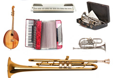 11种常见乐器高清图片