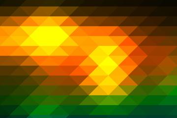 拼色菱形无缝背景矢量素材