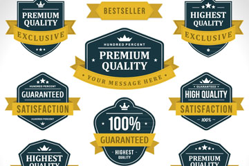 12款高端创意销售标签设计矢量素