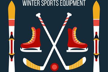 5款彩色冬季冰雪运动装备乐虎国际线上娱乐图
