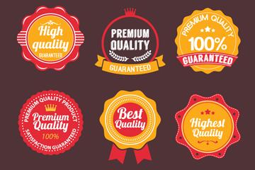 9款优质促销徽章矢量素材