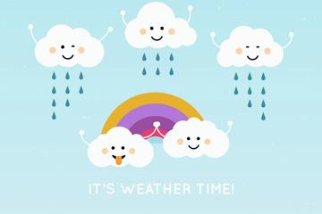 7个可爱云朵设计乐虎国际线上娱乐乐虎国际