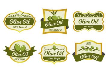 6款绿色橄榄油标签乐虎国际线上娱乐乐虎国际