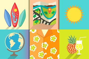 9款彩色度假元素乐虎国际线上娱乐乐虎国际