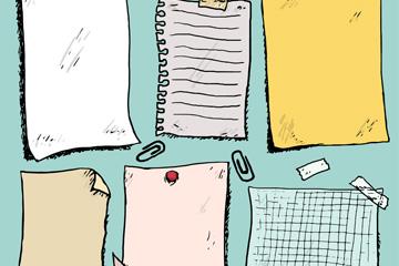 6款彩绘空白报事贴乐虎国际线上娱乐乐虎国际