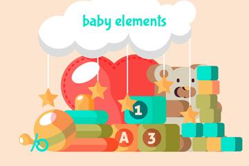 8个扁平化婴儿玩具乐虎国际线上娱乐乐虎国际