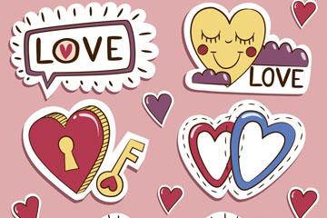 12款彩绘爱心贴纸乐虎国际线上娱乐乐虎国际