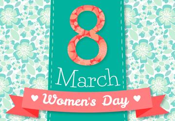 创意妇女节贺卡乐虎国际线上娱乐乐虎国际