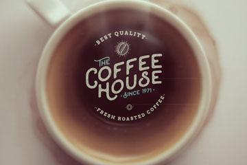 创意咖啡屋海报设计矢量素材