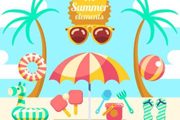 11款可爱夏季沙滩度假元素乐虎国际线上娱乐乐虎国际