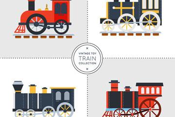 4款复古玩具火车设计乐虎国际线上娱乐乐虎国际