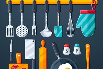 15款精美厨房用品矢量素材