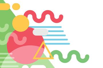 彩色圆形和曲线背景最新网络赌博网站