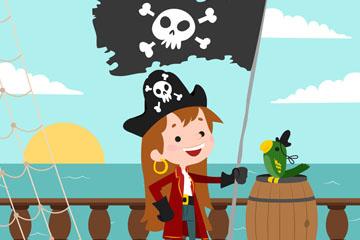 创意海盗女孩设计最新网络赌博网站
