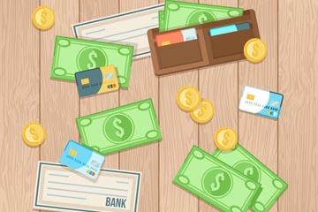 4款创意付款方式矢量素材