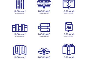 9款创意书籍标志乐虎国际线上娱乐乐虎国际