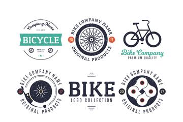 8款复古单车元素标志乐虎国际线上娱乐乐虎国际