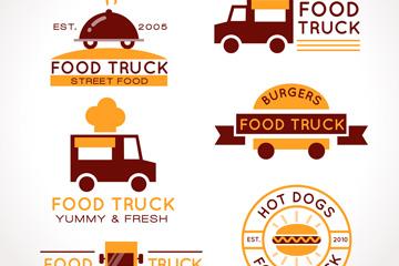 6款创意快餐车标志设计乐虎国际线上娱乐乐虎国际