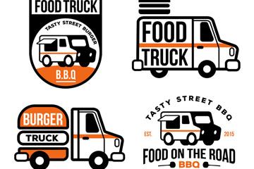4款创意快餐车标志乐虎国际线上娱乐乐虎国际