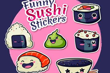 6款有趣的寿司贴纸开户送体验彩金的网站