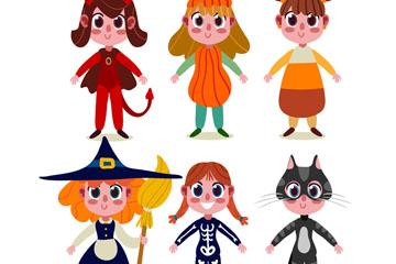 6款可爱万圣节装扮女孩开户送体验彩金的网站