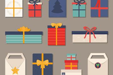 14款精致节日礼物设计矢量素材