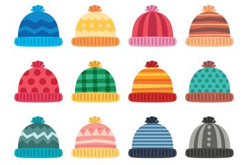 16款彩色花纹毛线帽开户送体验彩金的网站