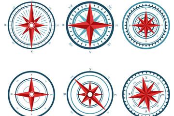 6款扁平化指南�矢量素材