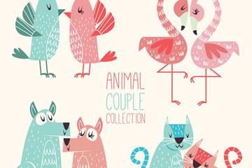 4对彩绘动物情侣设计开户送体验彩金的网站