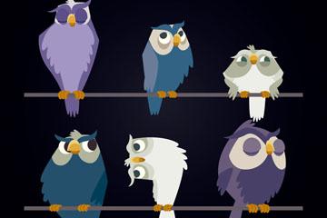 6款卡通树枝上的猫头鹰开户送体验彩金的网站