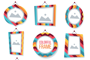 9款彩色空白相框设计开户送体验彩金的网站