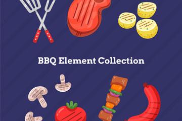 12款彩绘烧烤元素乐虎国际线上娱乐乐虎国际