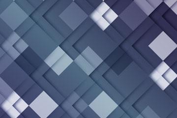蓝色菱形方格背景矢量素材