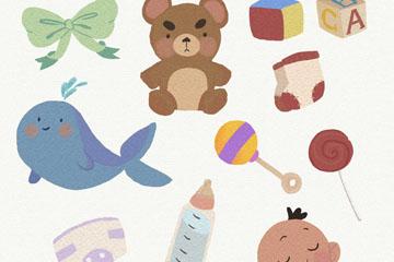 11款彩绘婴儿元素设计开户送体验彩金的网站