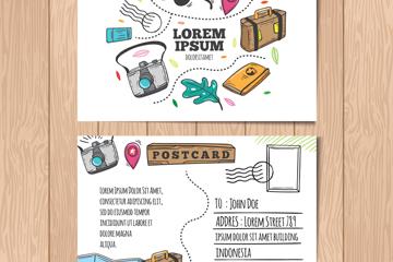 彩绘旅行明信片正反面开户送体验彩金的网站