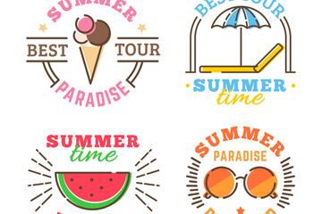 4款彩色夏季度假�酥臼噶克夭�