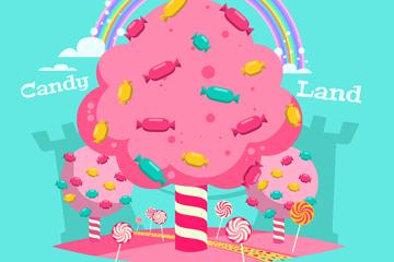 粉色糖果树设计最新网络赌博网站