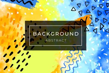 水彩抽象图案背景最新网络赌博网站