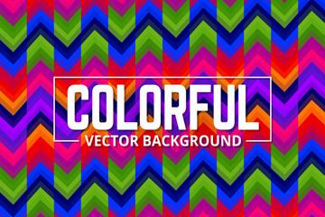彩色曲线背景设计矢量素材