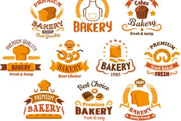 10款复古面包店标签最新网络赌博网站