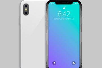 创意iphone手机正反面矢量素材