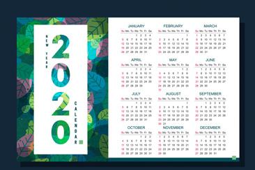 2020年彩色�淙~年�v矢量素材