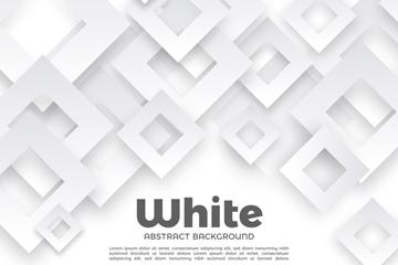 白色质感菱形无缝背景矢量素材