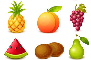 9款精美水果设计矢量素材
