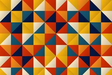 抽象三角形拼接背景矢量�D