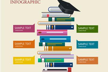 ��意��籍教育信息�D矢量素材
